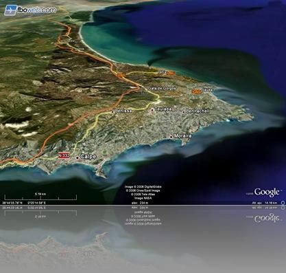 El triángulo dorado del Moscatel de Alicante y por ende de España