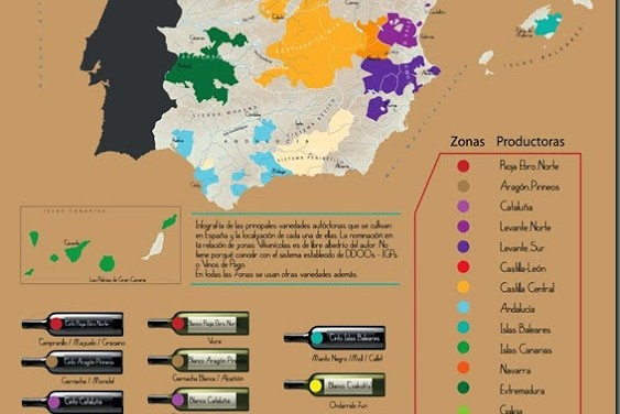 Infografía_Variedades Autóctonas de Vinos de España_Marzo_2015