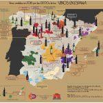 Botellas de vino en 2016 hechas por las DDOOs en España